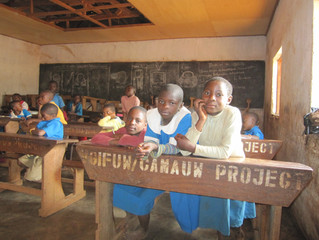 SPONSORSHIPS BEGIN- BAMENDA, CAMEROON