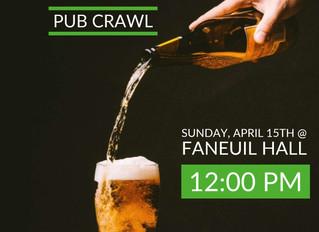 FANEUIL PUB CRAWL- BOSTON, MA