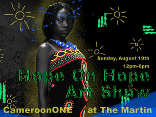 HOPE ON HOPE ART SHOW- CHICAGO, IL