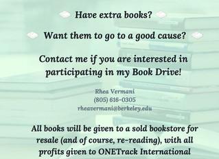 BOOK DRIVE- BERKELEY, CA