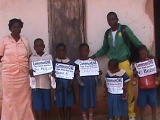 SHOE DISTRIBUTION- BAMENDA, CAMEROON