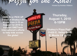 SHAKEY'S PIZZA FOR KIDS- El MONTE, CA