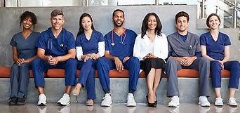 healthcare team covid 19