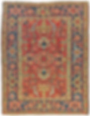 antique Heriz Serapi 4 x 6