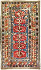 antique Shirvan Caucasian rug 4x6