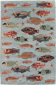 4 x 6 School of Fish BlueGray 1.jpg
