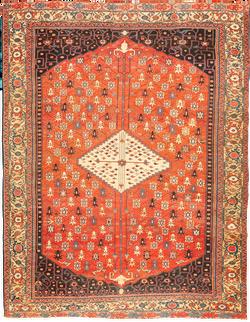 Antique Serapi Carpet 8'0 x 11'0
