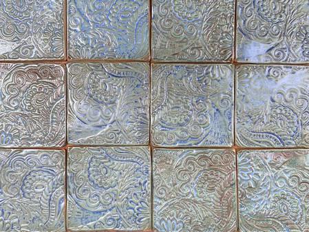 Splashback tiles