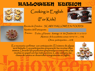 Halloween Cooking Class!