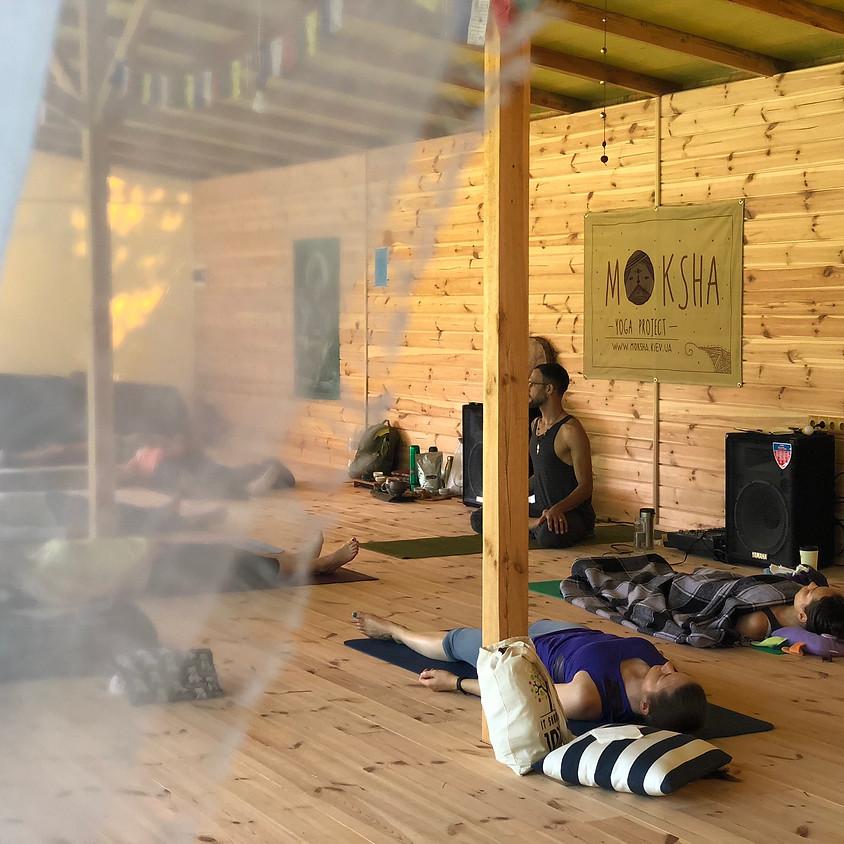 Молчаливый ретрит выходного дня «Медитация» под Киевом с Денисом Бучмой