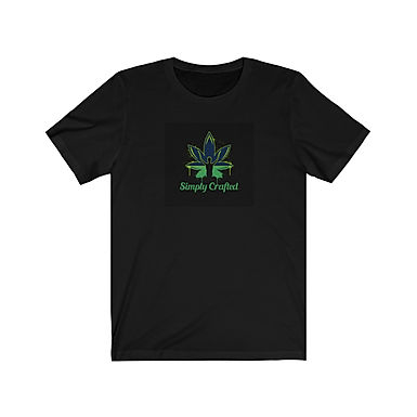Unisex Simply Crafted T-Shirt - Black & Green
