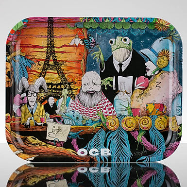 Cafe Culture Rolling Tray