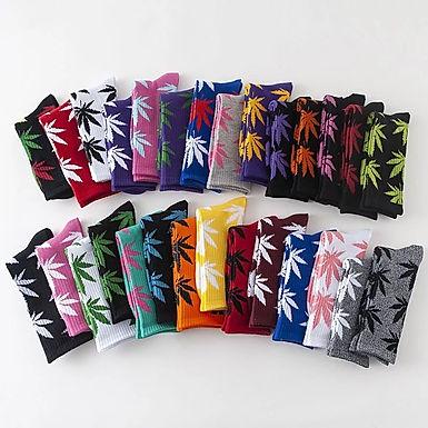 Cannabis Leafs Socks