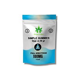 100mg CBD Gummy Sample Pack (4 Count)