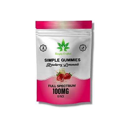 Organic CBD Gummies - 10 Pack