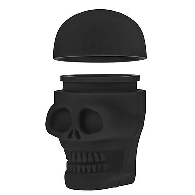 Silicone Skull Container (2 pack)