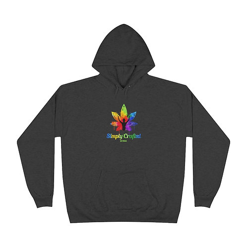 Simply Crafted Unisex EcoSmart® Pullover Hoodie Sweatshirt