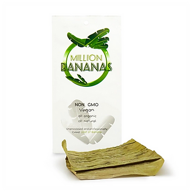Organi Leaf Million Bananas Organic Vegan Non GMO Cured Banana Leaf - Pack of 2