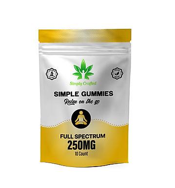 250mg Gummies - 10 Pack