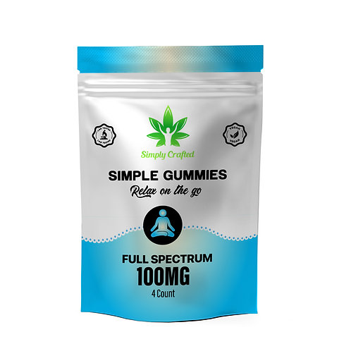 100mg Gummy Sample Pack (4 Count)