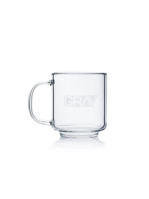 GRAV Glass Coffee Cup