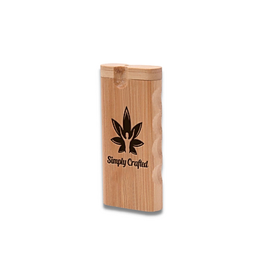 Bamboo Dugout w/Glass Taster