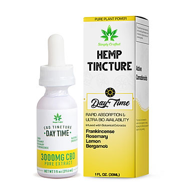3000mg Tincture - Daytime Blend