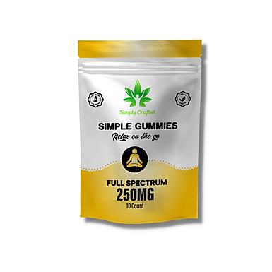 250mg CBD Gummies - 10 Pack