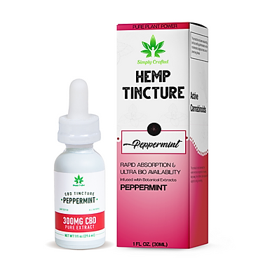 300mg Tincture - Peppermint