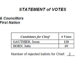 Statement of Votes