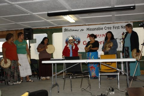Women's Drum Group Annual Gathering 2010.jpg