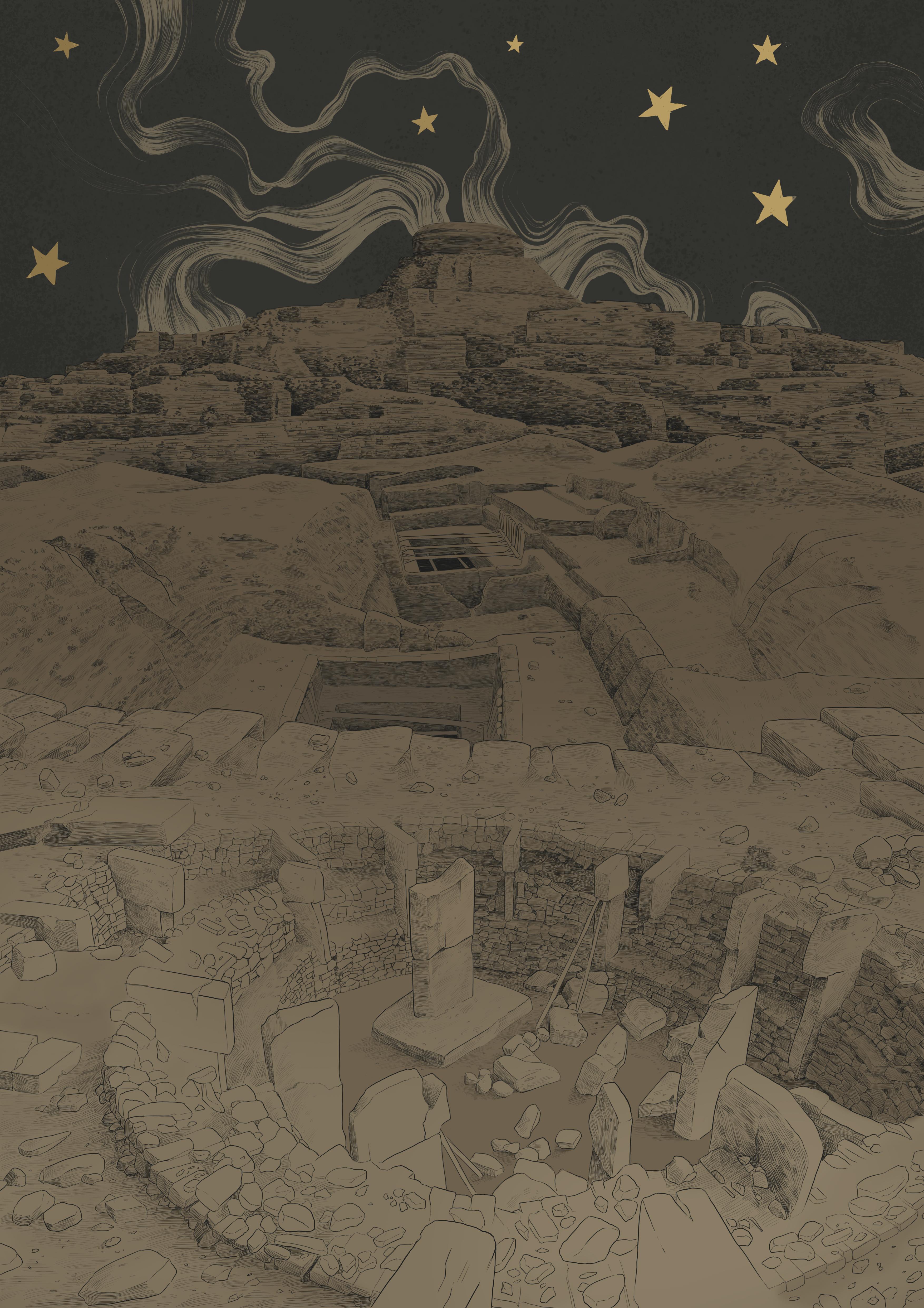 Ziggurat Transversal Galery
