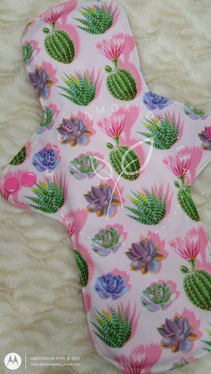 Toalla nocturna 31 cms cactus