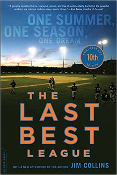 "Jim Collins wrote about Jon Palmieri in his baseall book, ""The Last Best League"""
