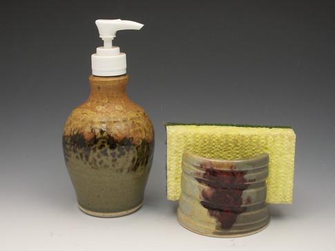 Soap Dispenser Sponge Holder