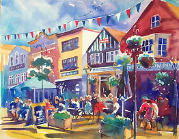 Salisbury market Square, watercolour.jpg