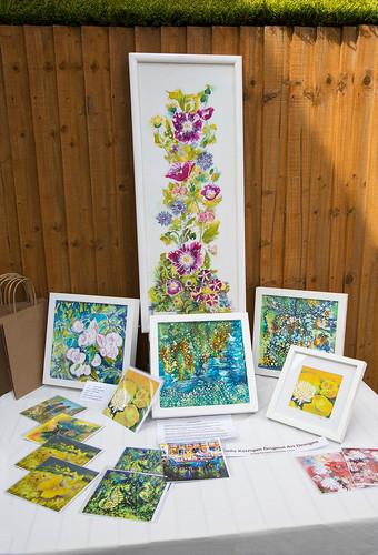 Colourful art full of detail by Shelia Kerrigan!