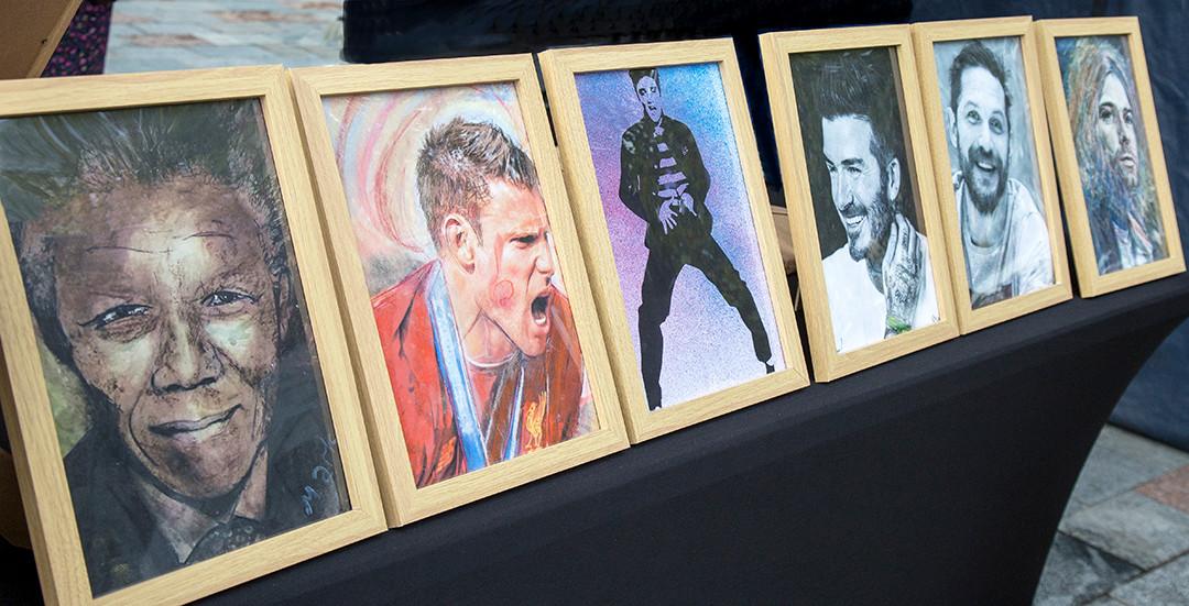 Mark Hamiltons amazing portraits!