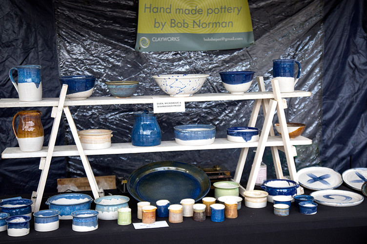 Bob Norman's pottery… perfect for every home!