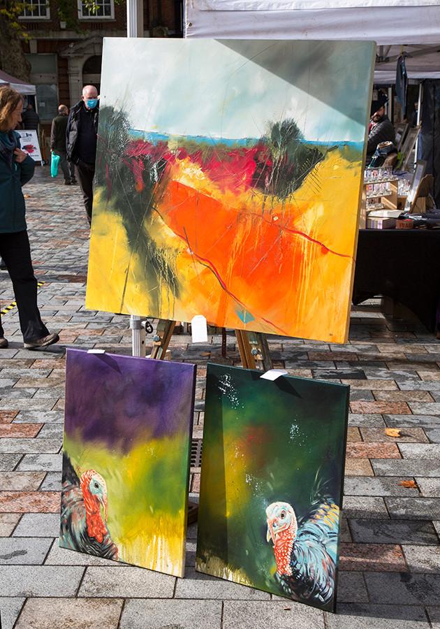 Art from Simon Howden full of colour!