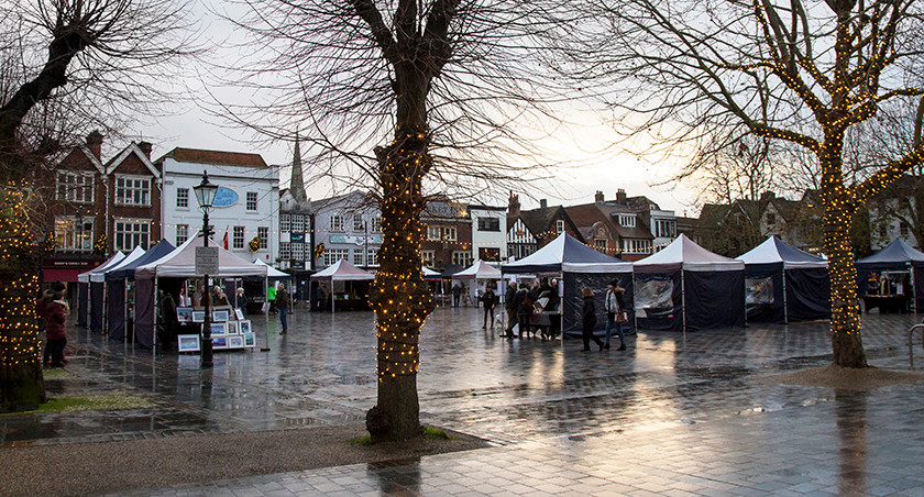 …the market square was full of those special and original gifts we all love to give!