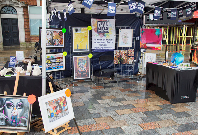 Plain Arts Salisbury… members display