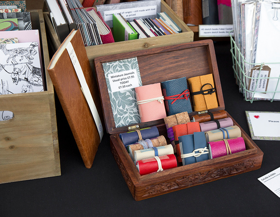 Tiny note pads from Hazel Gibb!
