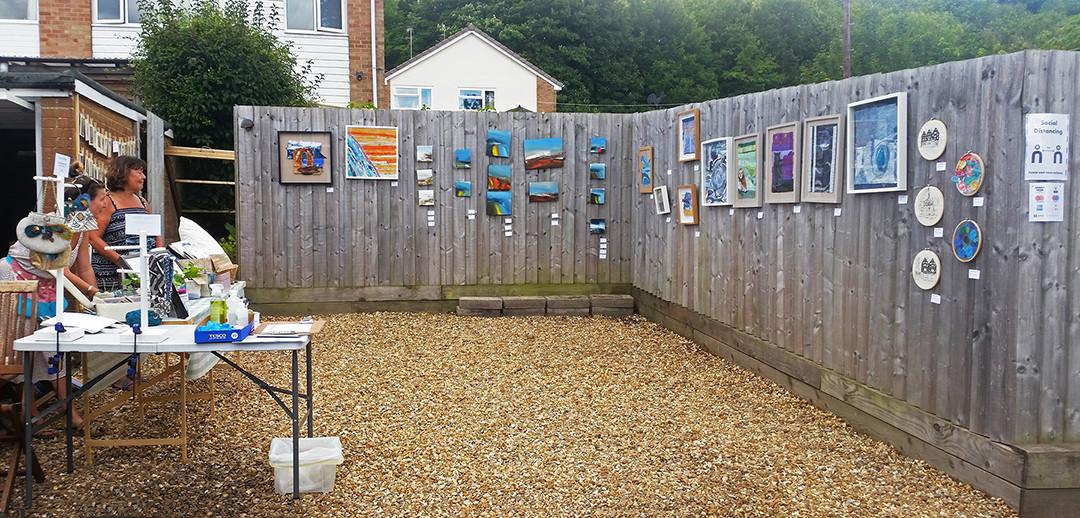 The Bilton Family's wonderful gallery display!