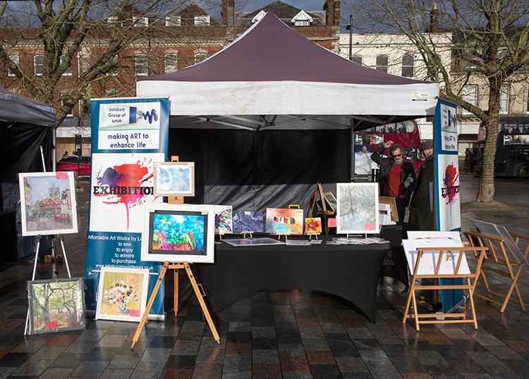 Salisbury Group of Artist… members display