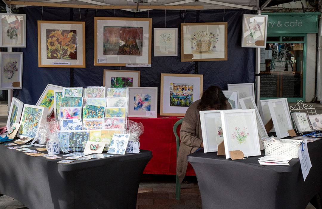 Shelia Kerrigan & Louise Bishop's display