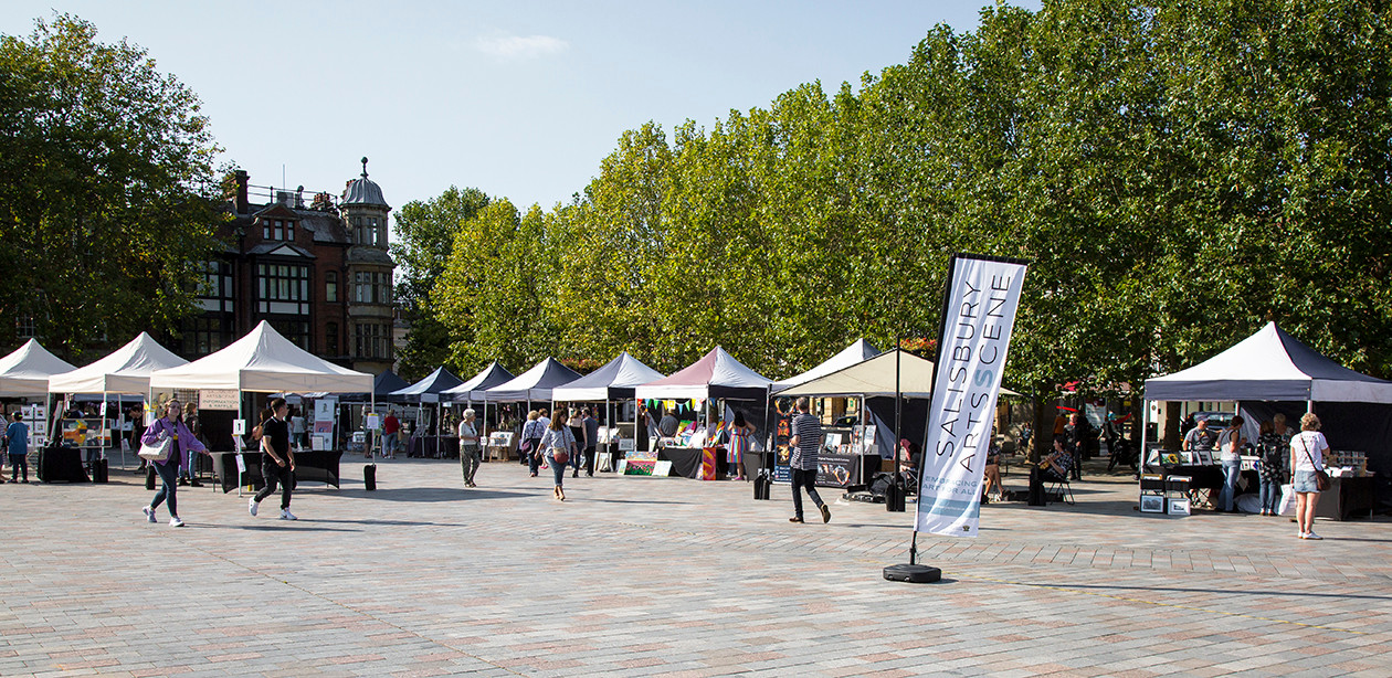 OUR FIRST EVENT IN THE MARKET PLACE!