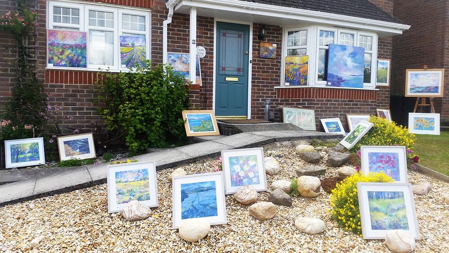 Mary Fawcetts wonderful home display!