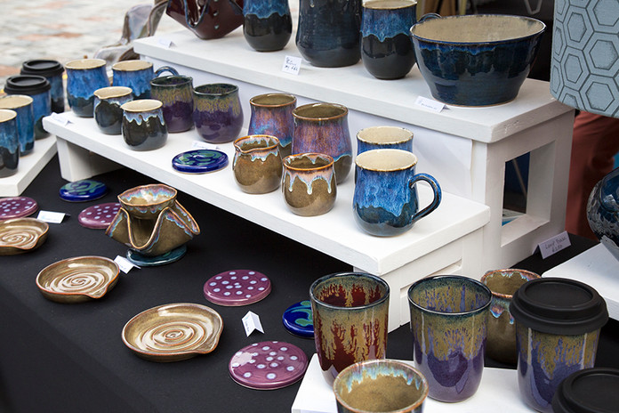 …and for Dawn Haines too with her ceramics.