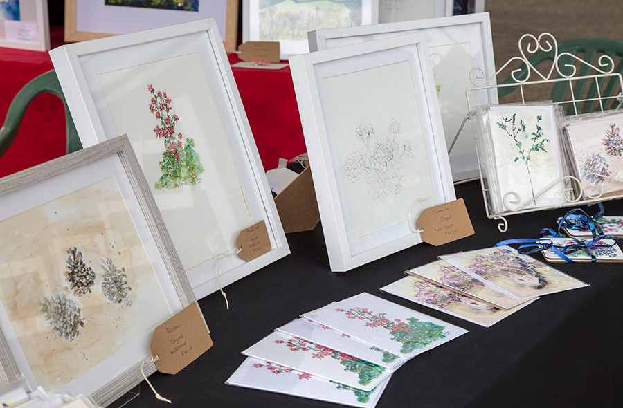 Louise Bishop's delicate art!